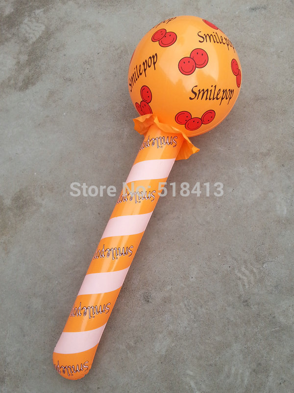 Inflatables Children Funny Gifts Large Inflatable Toy Stuffed Club Lollipop Toys Model Hammers Activity Props Pvc 2-4 Years