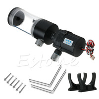 140mm Cylinder Water Tank SC600 Pump Computer Water Cooling Radiator 600L H Drop Shipping