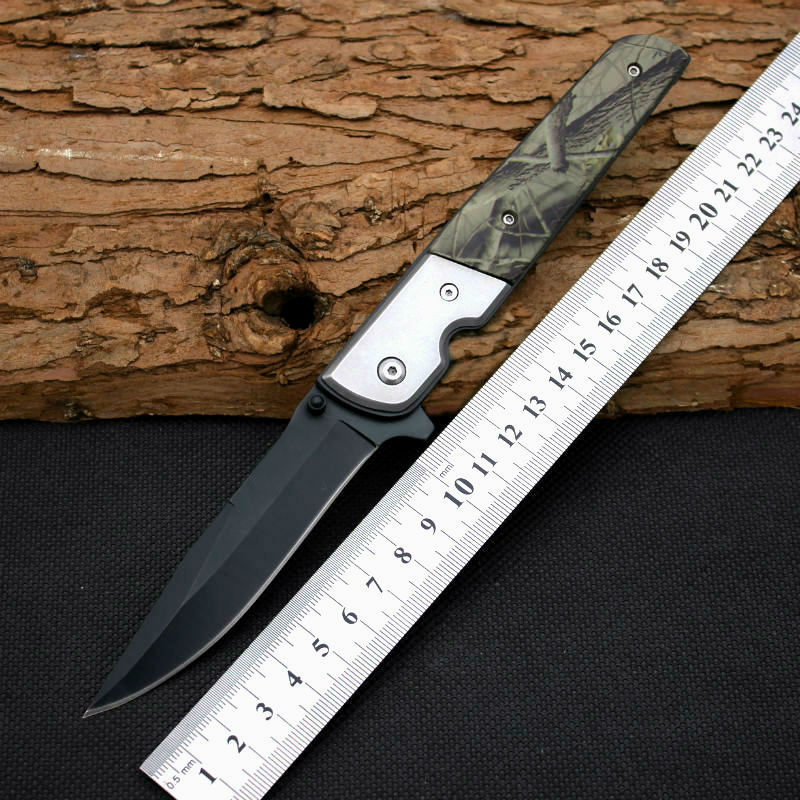 New Folding font b Knife b font 5CR13MOV Steel Blade GenLun Pocket Survival Knifes font b
