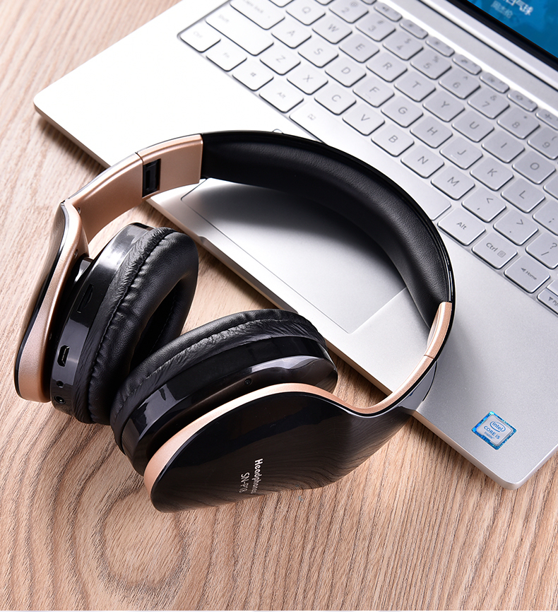 Foldable Stereo Headphone Headset Wireless Bluetooth
