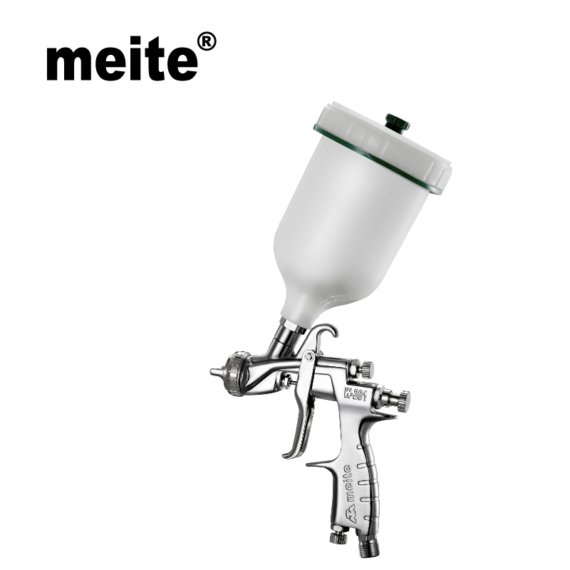 Meite New Product W201 Air Spray Gun In Nozzle Size 1.0/1.3/1.4/1.7mm Material Saving Paint Gun For Car Painting Jun.14 Update
