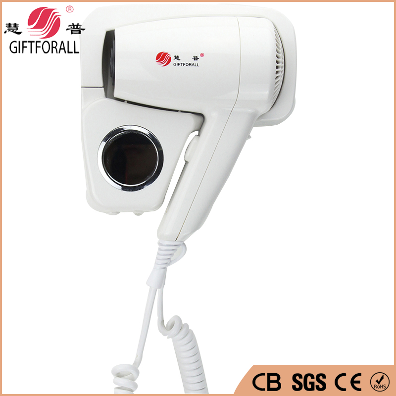 Euro 2016 Hair Dryer Wall-Mounted Blow Dryer Professional Salon Equipment Hot/cold Air Hotel Secador De Cabelo RCY-67330 professional hair dryer 2200w 220v ion hair care styling tools secador de cabelo fashion hot cold nano titanium hairdryer