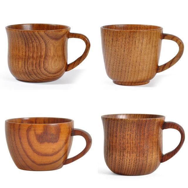 Handmade Bamboo Wooden Mug