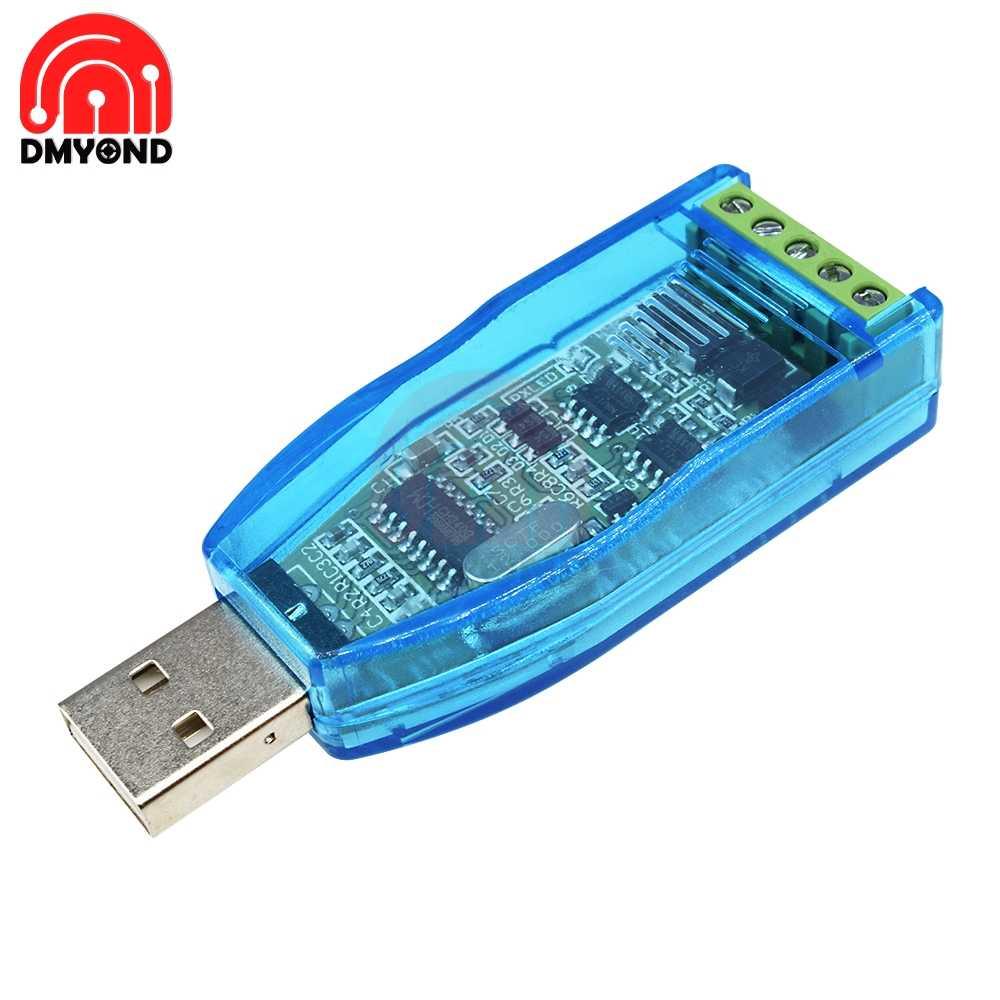الصناعية USB إلى RS485/422 RS422 تحويل ترقية حماية CH340G CH340 RS485 محول جديد