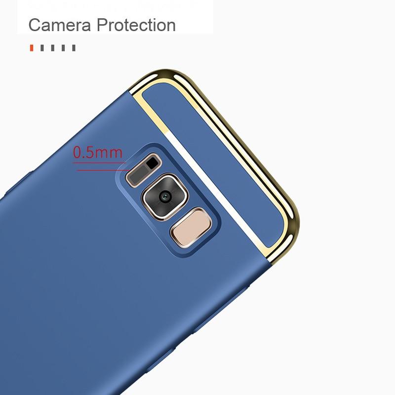 För Samsung Galaxy S8 Fodral för Samsung S8 Plus Fodral 3in1 - Reservdelar och tillbehör för mobiltelefoner - Foto 2