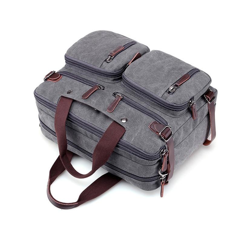 HTB1.yGAaPzuK1Rjy0Fpq6yEpFXai Men Canvas Briefcase Business Laptop Handbag Large Messenger Shoulder Bag Big Casual Male Tote Back Bags Travel Suitcase XA162ZC