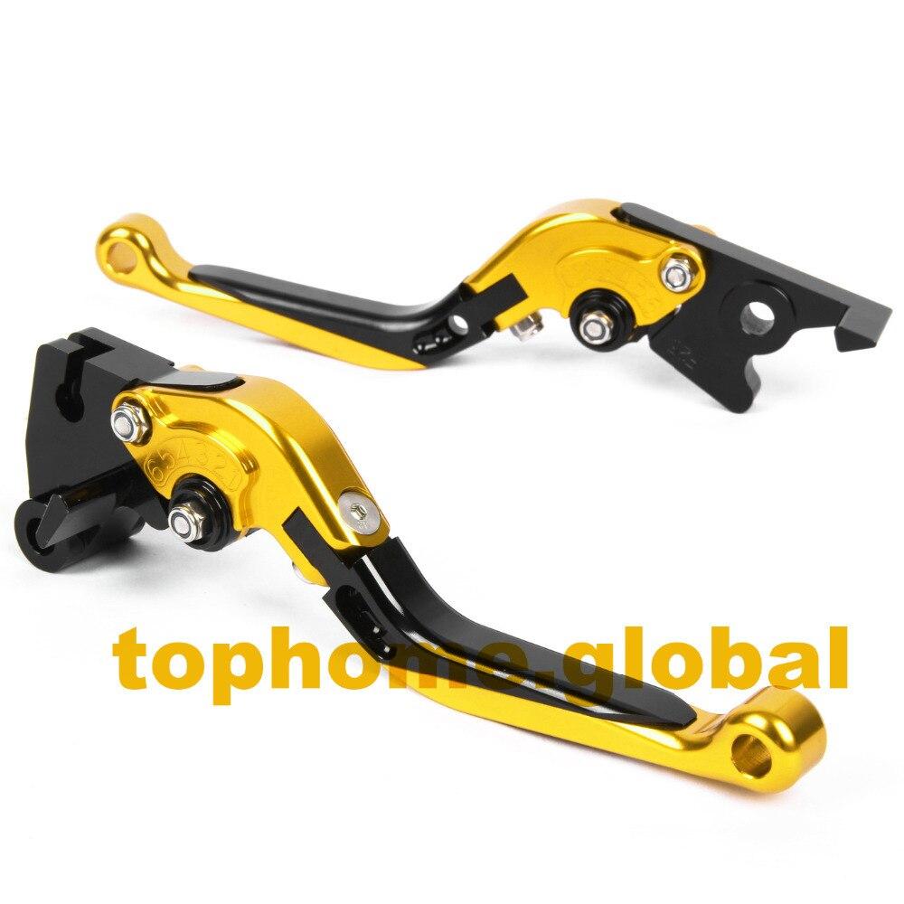 Motorbike Accessories CNC Foldable&Extendable Brake Clutch Levers For MV Agusta F3 675 2013-2014 orange motorbike foldable