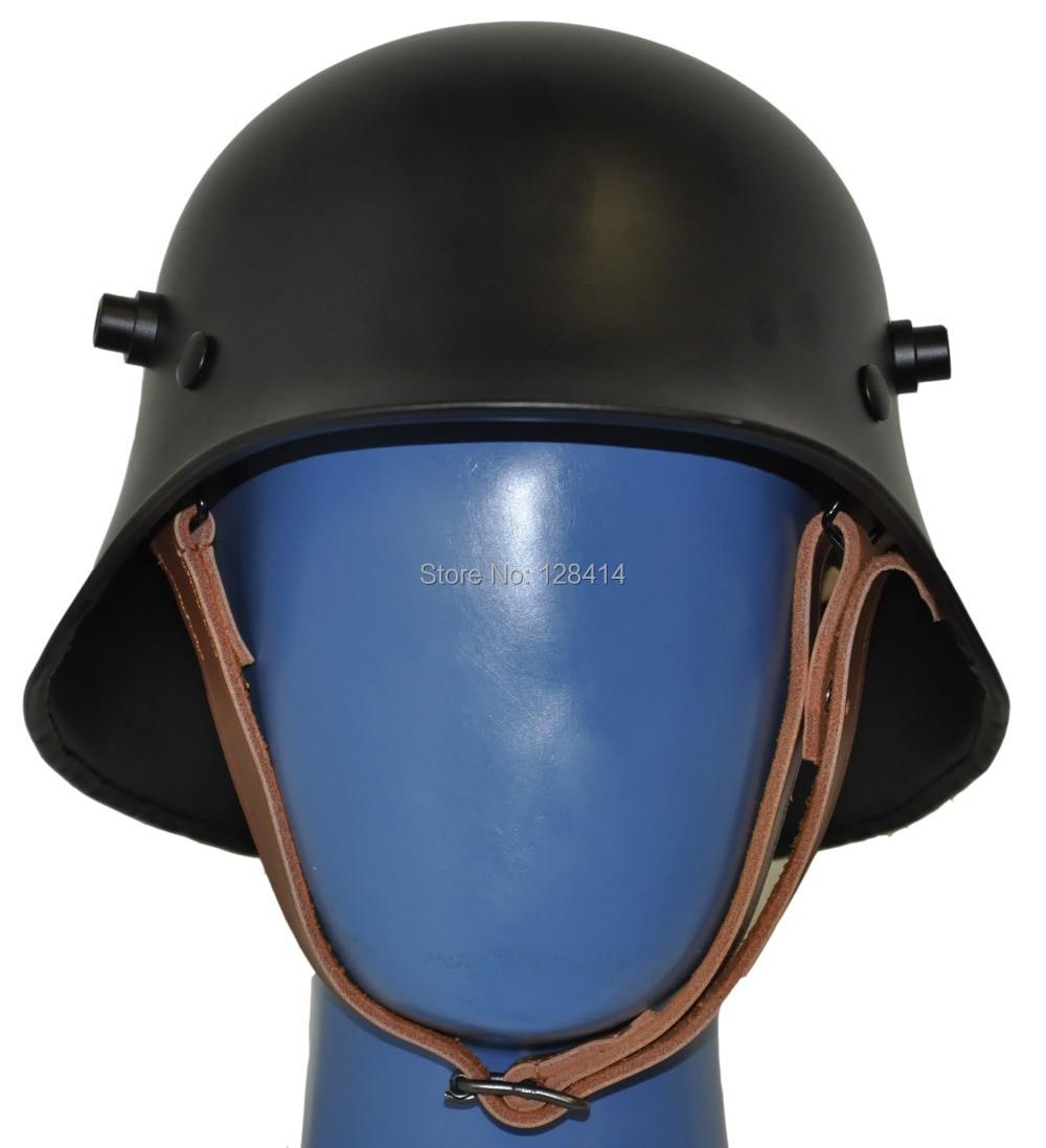 WW1 Black German Helmet WWi M18