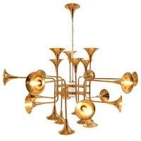Delightfull Botti Pendant Light Chandelier Suspension Lamp Lighting Fixture Trumpet Group 12 16 24 Head For