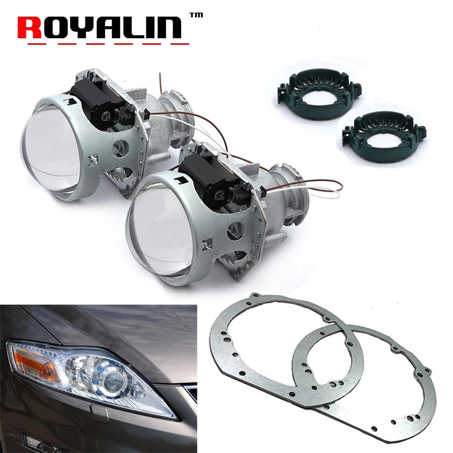 ROYALIN для Ford Mondeo MK IV подтяжку лица 07-14 Hella 3R G5 Биксенон проектор фары объектив ж/рамка адаптер кронштейн автомобиля модернизации