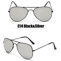 C14 Black Silver