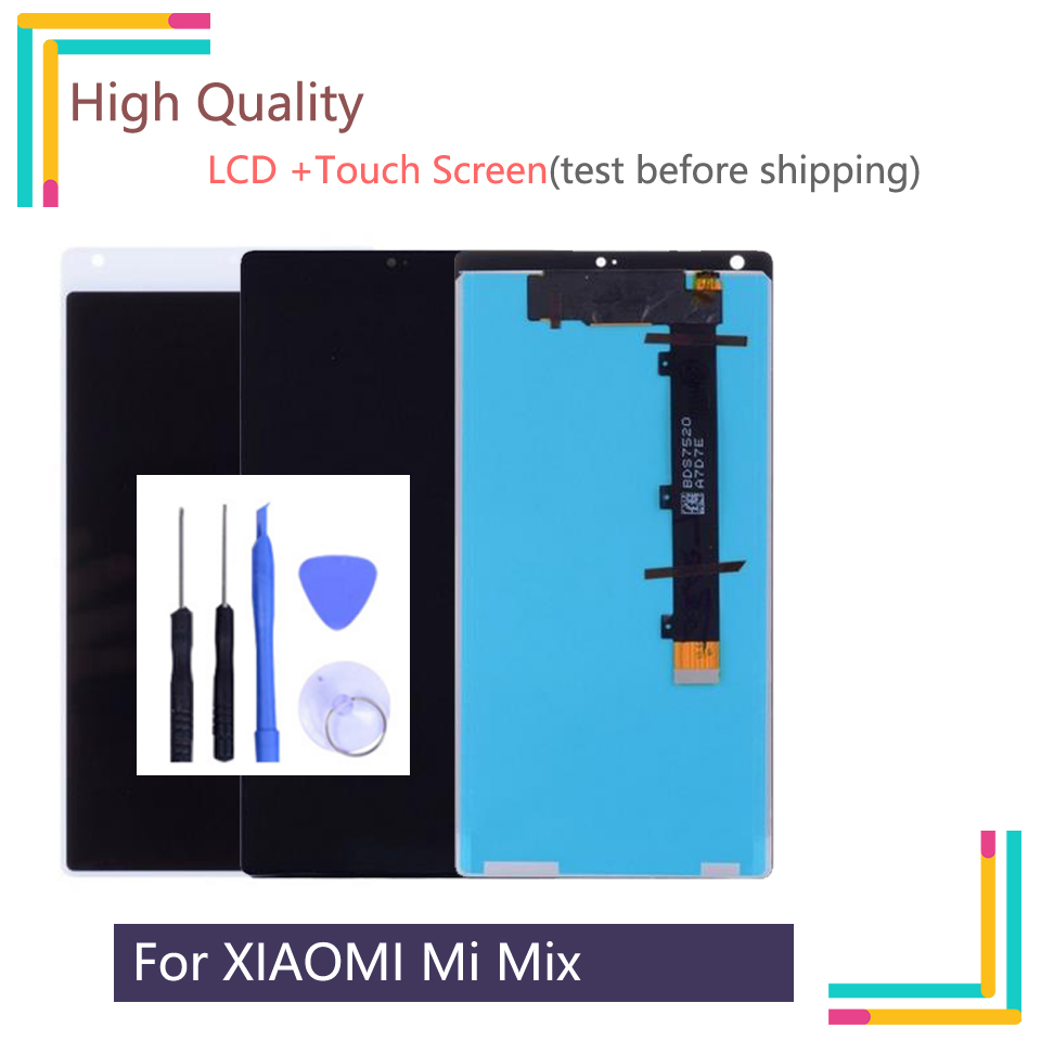 New 6.4 Display For XIAOMI Mi Mix LCD Display with Touch Screen Digitizer Assembly for XIAOMI MI MIX LCD Replacement Parts  New 6.4 Display For XIAOMI Mi Mix LCD Display with Touch Screen Digitizer Assembly for XIAOMI MI MIX LCD Replacement Parts
