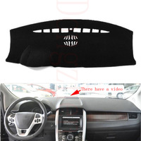 For Ford Edge 2011 2012 With Video Car Dashboard Cover Avoid Light Pad Instrument Platform Dash