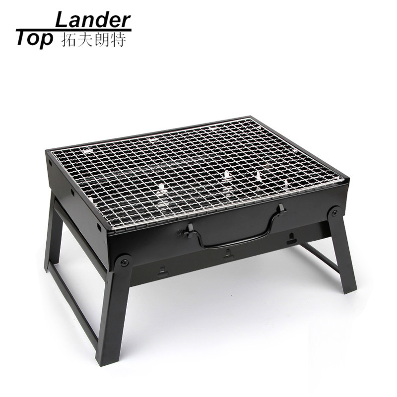 BBQ Grill Fold Charcoal Barbecue Grill Set Oven  Roast Stove Mini Portable Outdoor Camping Grill Camp Stove Toaster