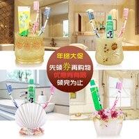 Bàn chải đánh răng chủ bàn chải đánh răng kem đánh răng ống shukoubei Yagang bàn chải đánh răng đặt hộp đánh răng răng dán ch