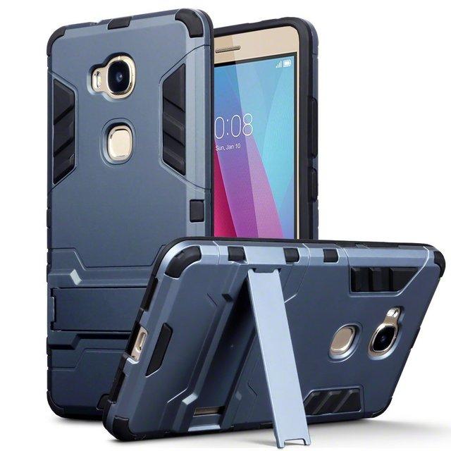 best sneakers 5e802 0c644 US $2.99 |Huawei Honor 5X case Huawei GR5 2016 case rubber bumper dual  cover light armor hard case for Huawei Honor 5X GR5 2016 cover case-in  Fitted ...