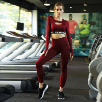 2019 Yoga Set Womens clothing Workout Set Letter 2 piece set Women Sport Suit Women Unique Gym Wear Women Yoga Jumpsuit