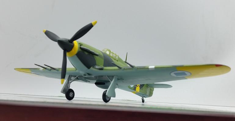 TRUMPETER 1:72 British World War II Hawker Hurricane Model Finland Squadron 37243 Favorites Model