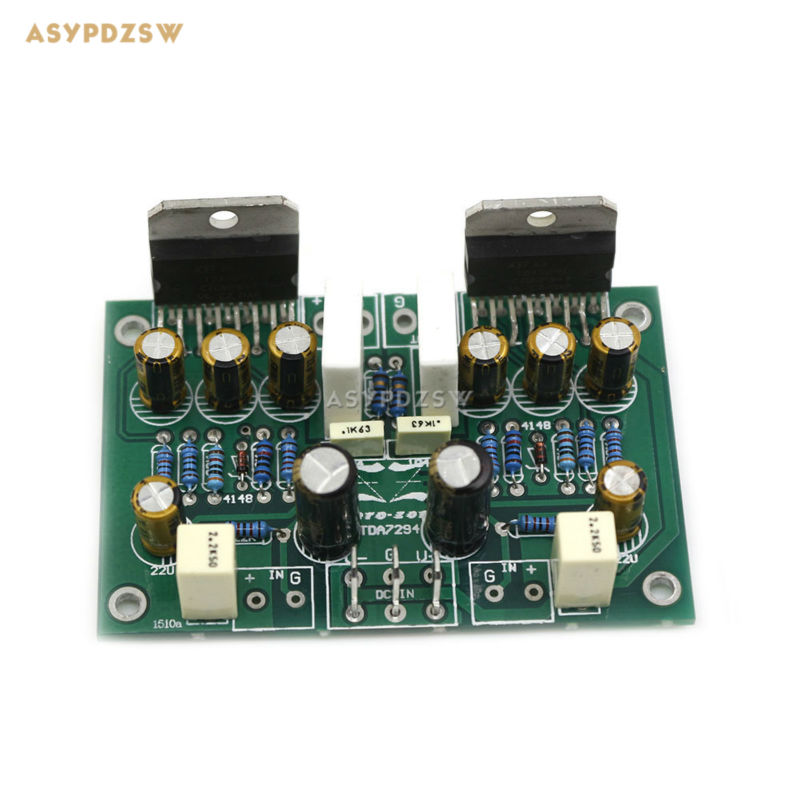 TDA7294 Pure Power amplifier finished board 68W+68W Dual channel audio amplifier board