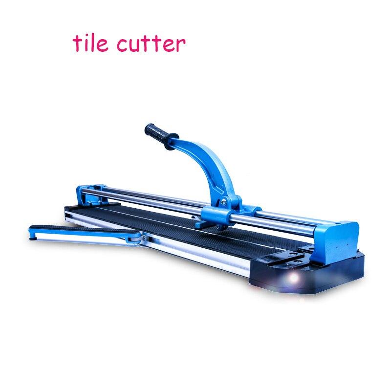 Tile cutter infrared laser manual tile cutter ceramic tile cutter 800 dual track (with laser)