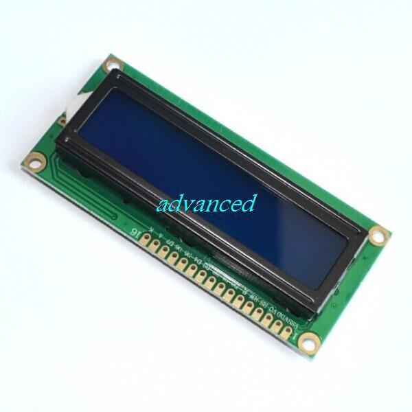 10 adet LCD1602 1602 modülü mavi veya yeşil ekran 16x2 karakter LCD ekran modülü HD44780 denetleyici
