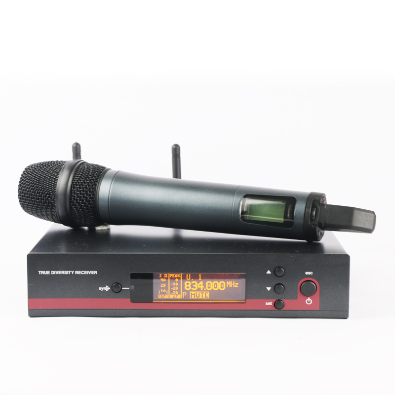 For Reseller! EW135G3 True Diversity Handheld Cordless Microphone UHF Wireless Microphone System Professional Ew100 EW135 G3 free shipping ew100 ew135 g3 style uhf band frequency adjustable dual handheld vocal karaoke wireless microphone system