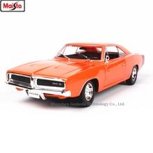Maisto 1:18  1969 Dodge CHARGER R/T Classic Car Alloy Retro Car Model Classic Car Model Car Decoration Collection gift модель автомобиля 1 24 motormax dodge charger r t 2011