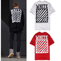 OFF WHITE T Shirt Justin Bieber Religion Jesus Stripe T Shirt Kanye West Camouflage Striped Hip Hop Red Black Off White T shirts