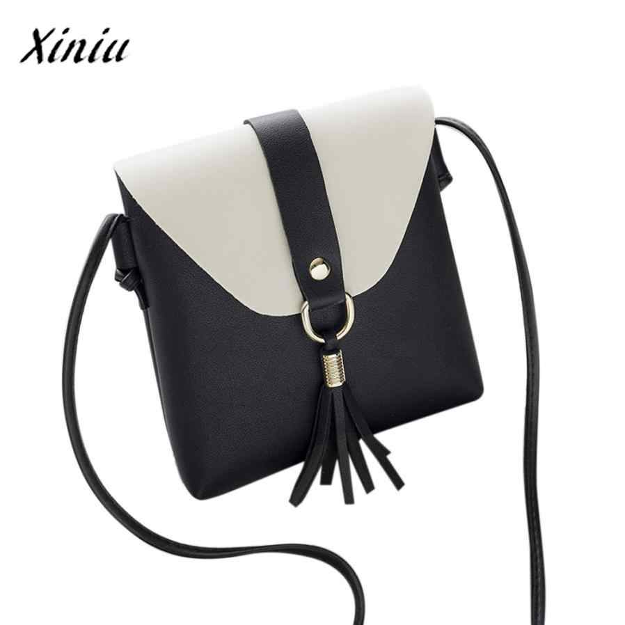 e841a8070cc Detail Feedback Questions about Fashion Women Bag Mini Messenger Bags For  Girls Flap Leather Hit Color Tassels Crossbody Shoulder Bag Phone Coin  Holder ...