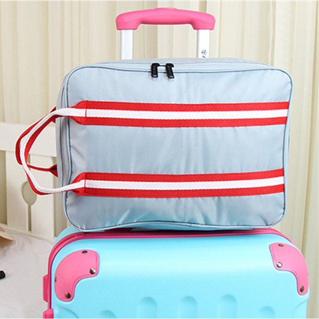 Beautiful Simple Style Luggage And Suitcases Storage Bag Portable Clothing Make Up  Pouch Waterproof Outdoor Essential Accessories