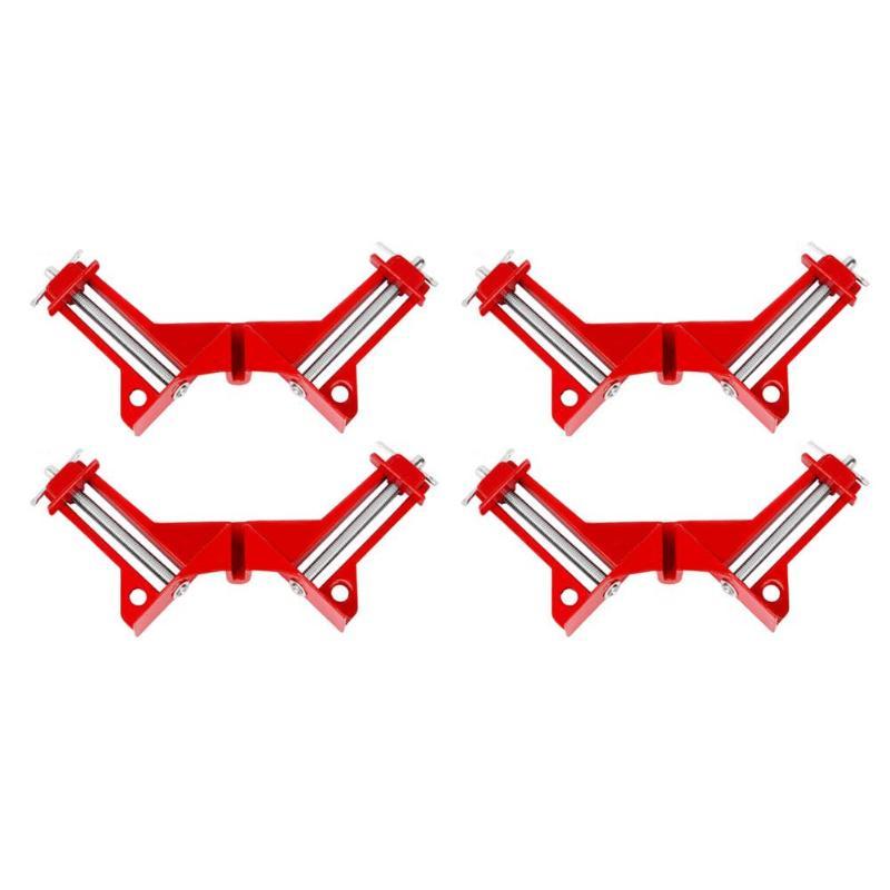 4 stücke Multifunktions Rechtwinklig Clamp 4 zoll 90 Grad Clip ...