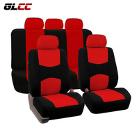 9pcs Set All Seasons Universal Car Seat Cover Breathable Comfortable Automobiles Seats Covers Fit For Most