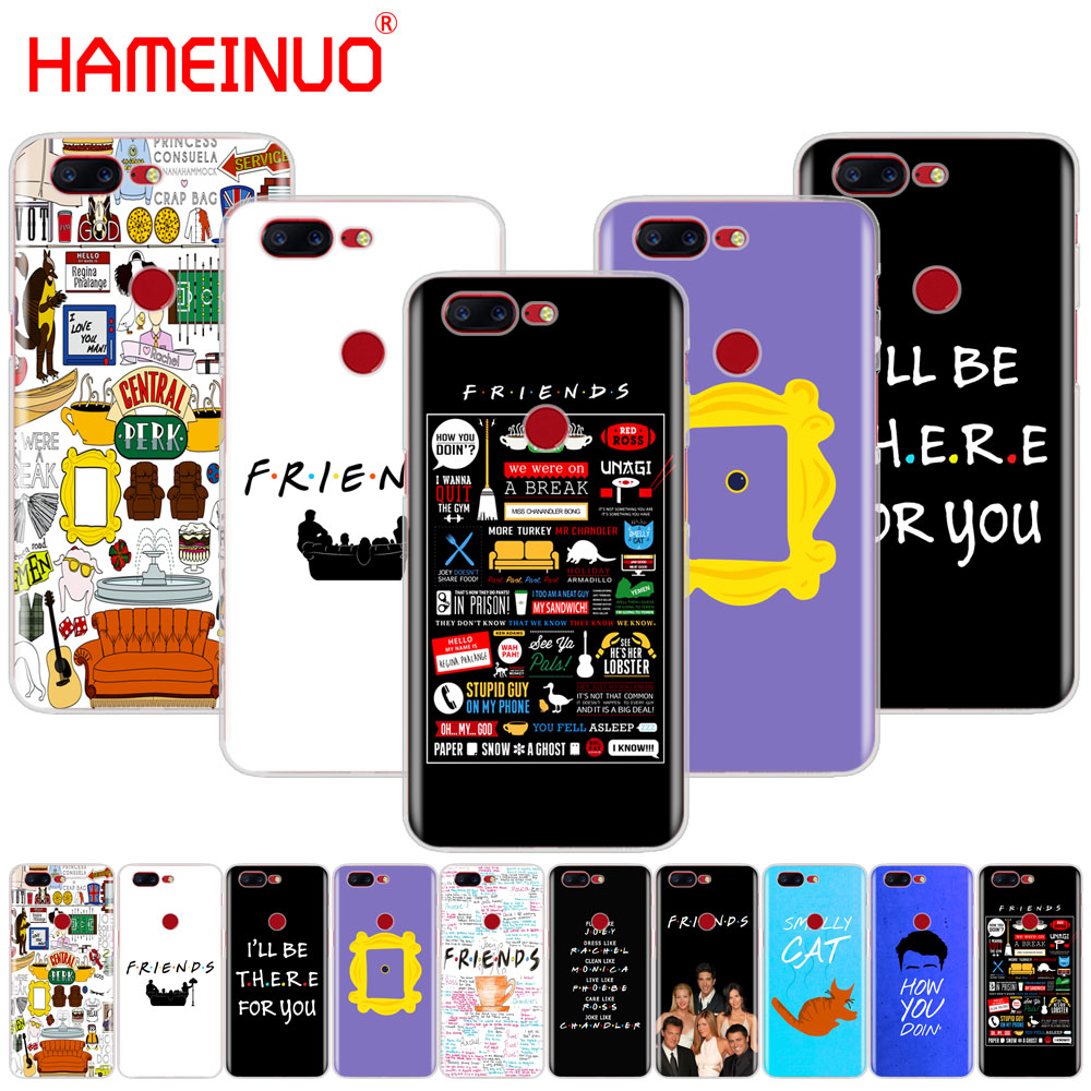 HAMEINUO Friends TV Show Series Sitcom cover phone case for Oneplus one plus 6 5T 5 3 3t 2 X A3000 A5000 image