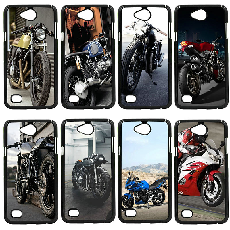 Hard Cover Retro Motorcycle Race Motor Phone Case For LG L Prime G2 G4 G5 G6 G7 K4 K8 K10 V20 V30 Nexus 5 6 5X Pixel Shell