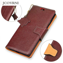 JCOVRNI For 100% leather retro mobile wallet leather case for iPhone 6 6s 7 phone bracket back cover case & bag