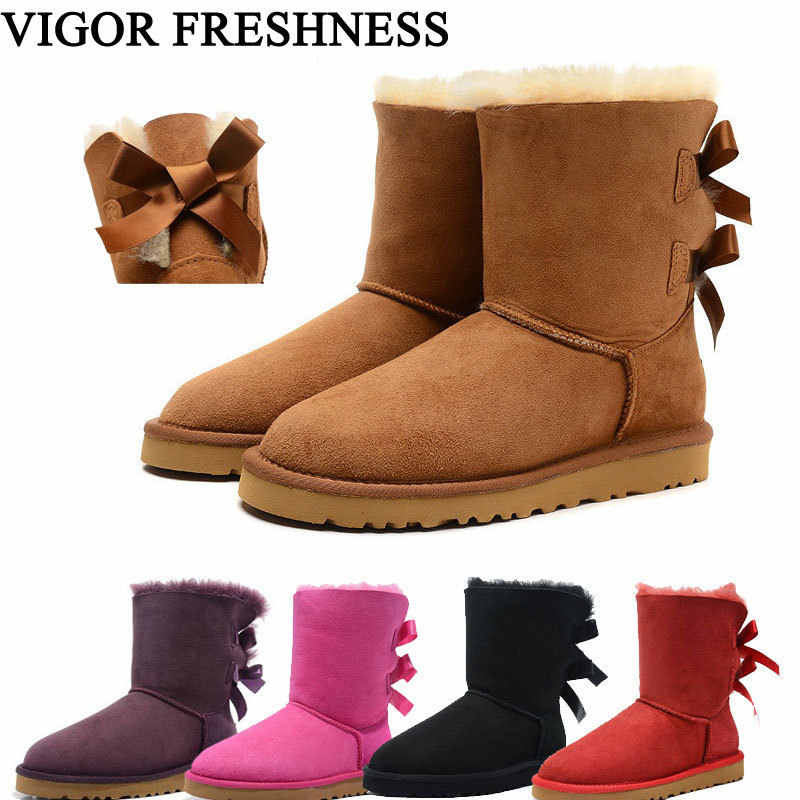 882b65fff VIGOR свежесть ботинки из натуральной кожи женская зимняя обувь ботинки на меху  теплая обувь женские ботинки