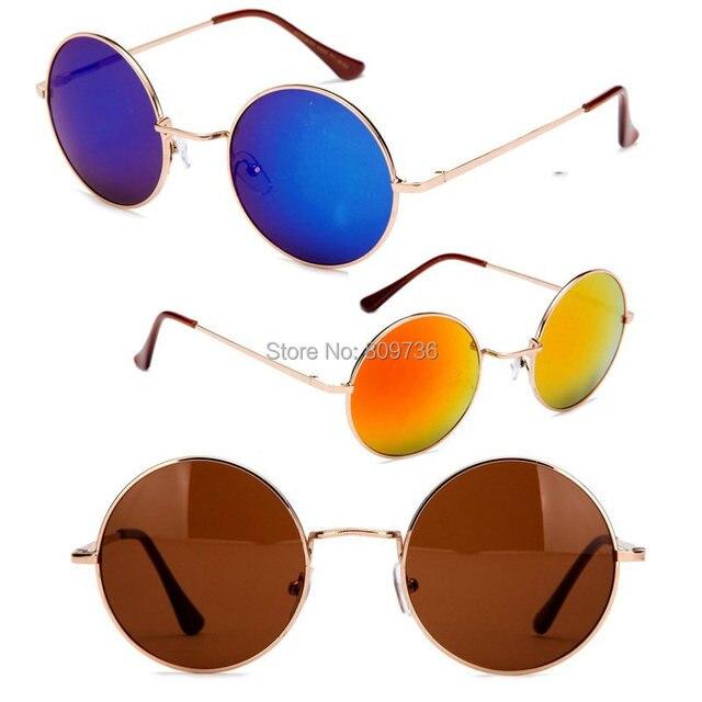 79bab8344b Hot Summer Hippie Shades Hippy 60 S John Lennon Estilo gafas de Sol  Redondas de La