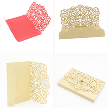Buy creative birthday invitation and get free shipping on aliexpress 24pcs creative birthday invitations card openwork carved heart shaped invitation card wedding decoration party supplies filmwisefo