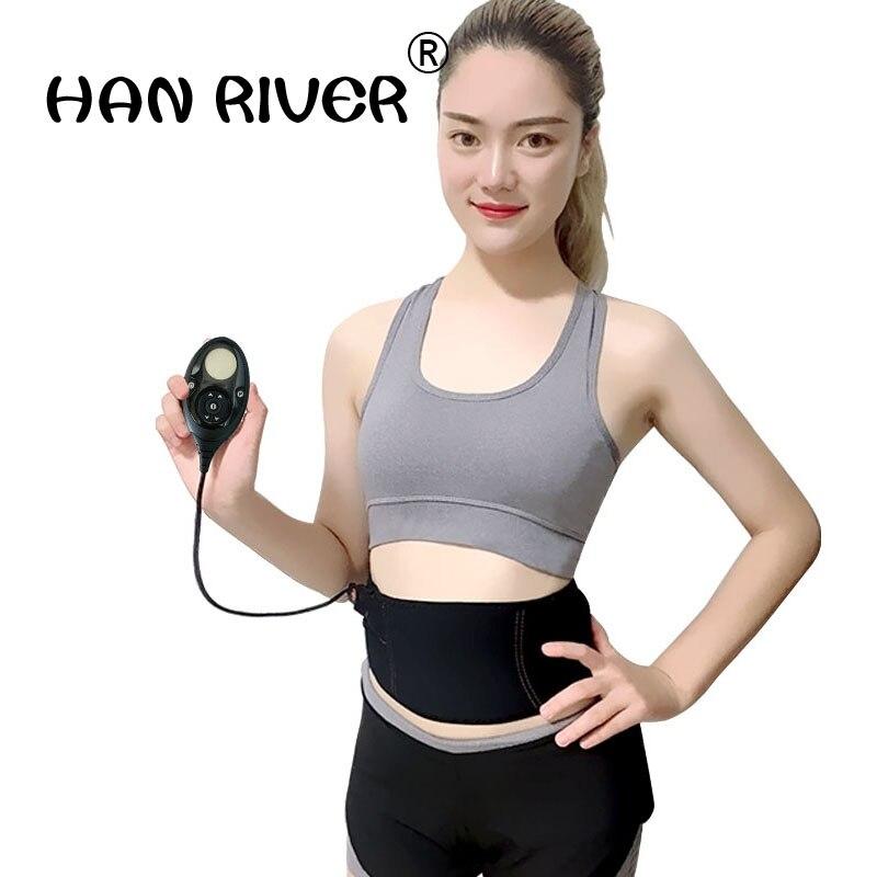150 Intensity Levels modes Rechargeable Muscle Stimulator Slim Massage BeltAbs Abdominal Muscle Toner Slimming Flex Belt