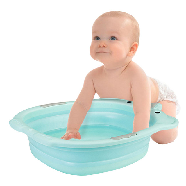 Foldable Baby Bathtub – Unicorn