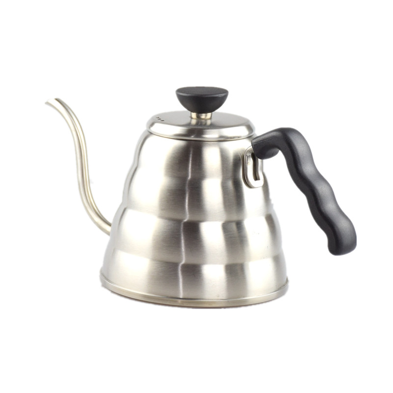 304 Stainless Steel Pour Over Drip Coffee Kettle Teapot Hot Water Server V60 Coffee Pot Set Tea Kettle 1000ml Drinkware Tools kettle