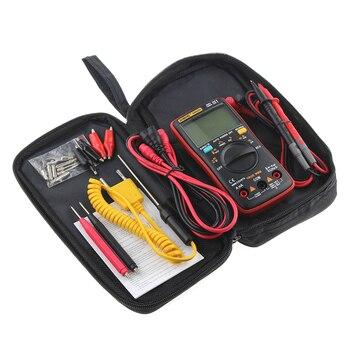 AN8008 AN8009 Auto Gamme Multimètre Numérique 9999 points Avec Rétro-Éclairage AC/DC Ampèremètre Voltmètre Ohm Transistor Testeur multi compteur