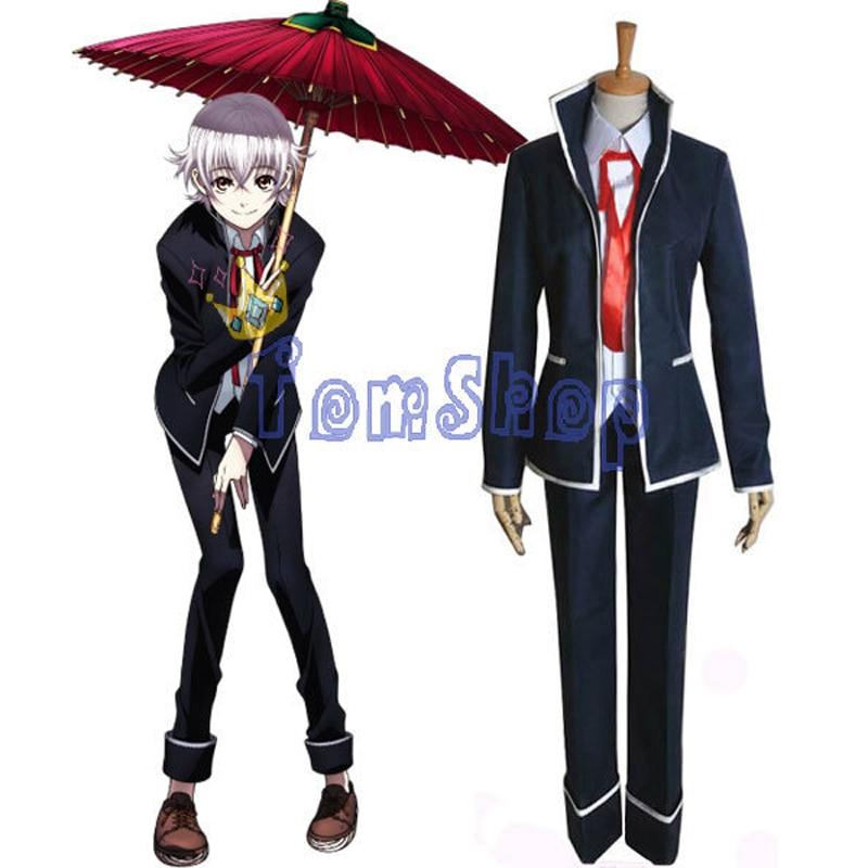 ツ)_/¯Anime K Isana Yashiro Cosplay Unifom juego completo trajes de ...