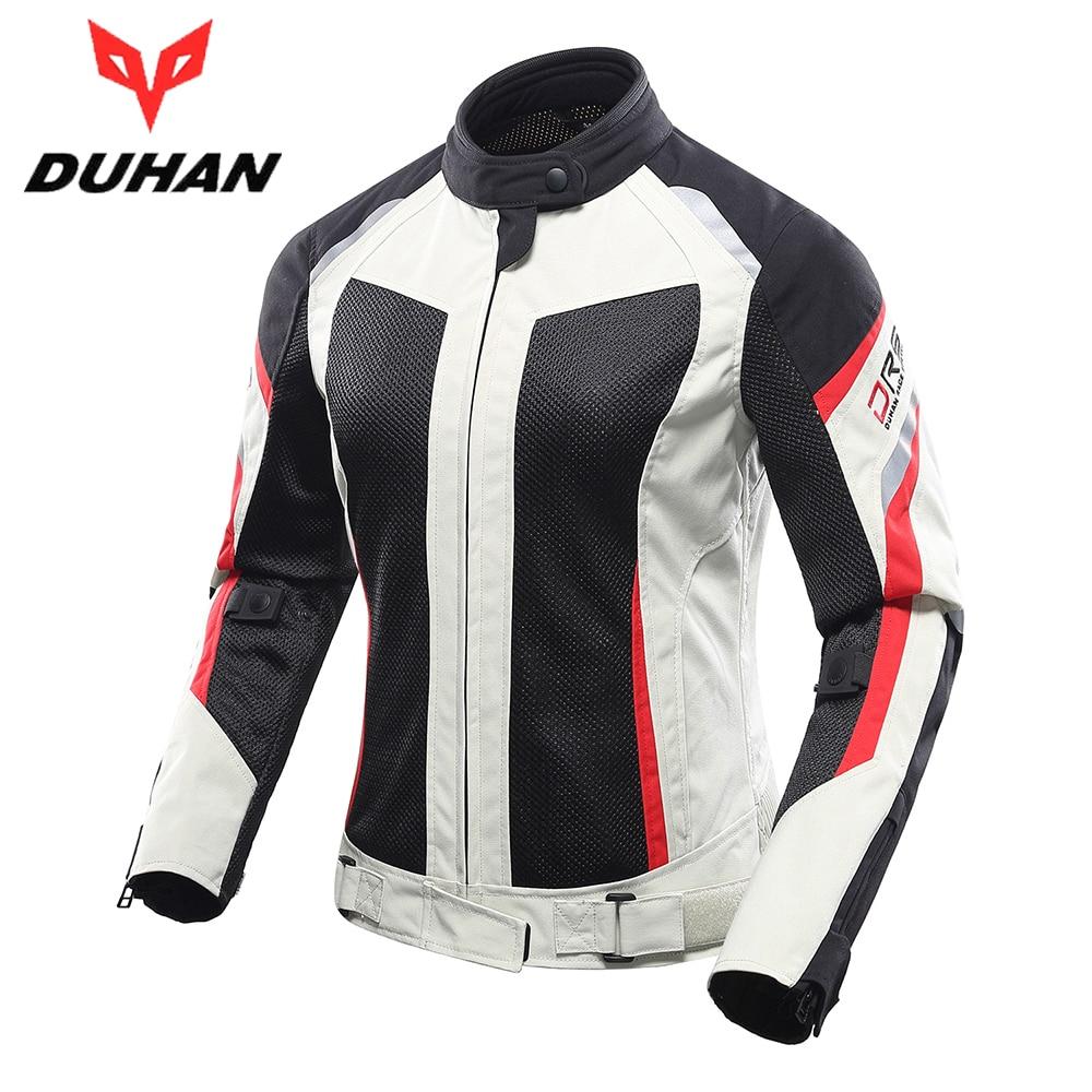 52-XL, Negro + azul Chaqueta Moto C/ómodo Transpirable Hombres Y Mujeres Motocicleta Chaqueta /…