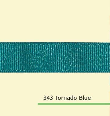 7/8 «дюйма (22 мм) золото блеск Торнадо Синий полушерстяной лентой