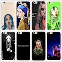 Billie Eilish Painting style Music singer clear Hard Phone Case Cover Coque For iphone 11Pro MAX 6 6s 7 8plus 5s 4 X XS XR XSMax