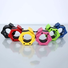 1 Pair 50MM Dumbbells Barbell Clamps Collars Lock Fitness Musculation Standard Weightlifting Dambil Gym Plastic Buckle