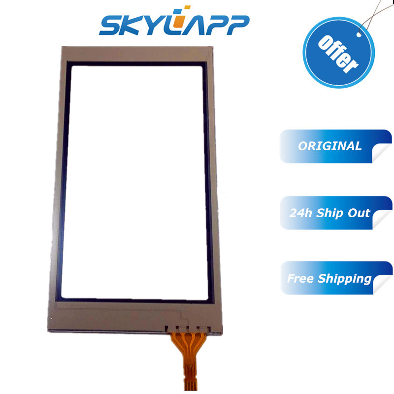 "Confident Skylarpu New 4"" Inch Touch Panel For Garmin Montana 600 650 Touch Screen Digitizer Glass Sensors Panel Replacement Free Shipping Skillful Manufacture"