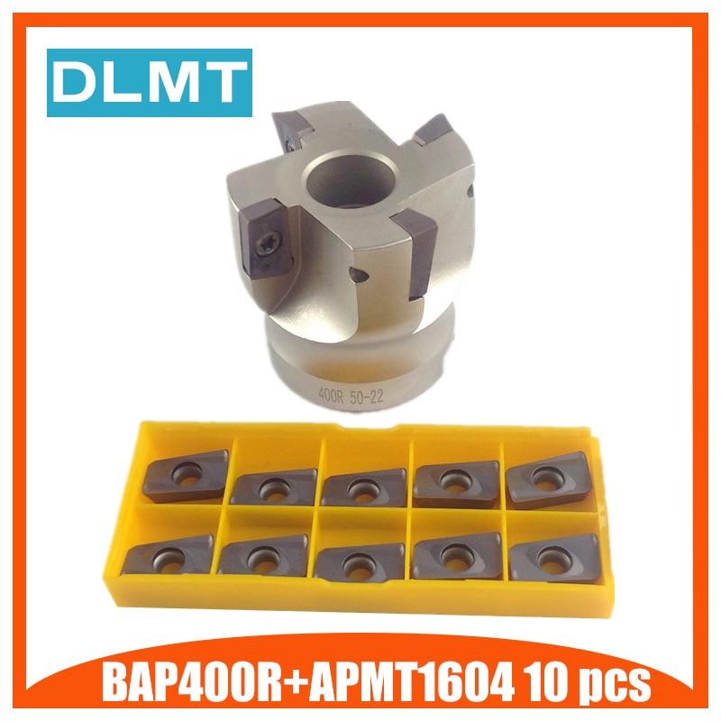 все цены на BAP400R 50 22 4T BAP 400R 63 22 4T BAP 400R 80 22 4T Flute Face End Mill Flat Cutter +10pcs APMT1604PDER Carbide Inserts