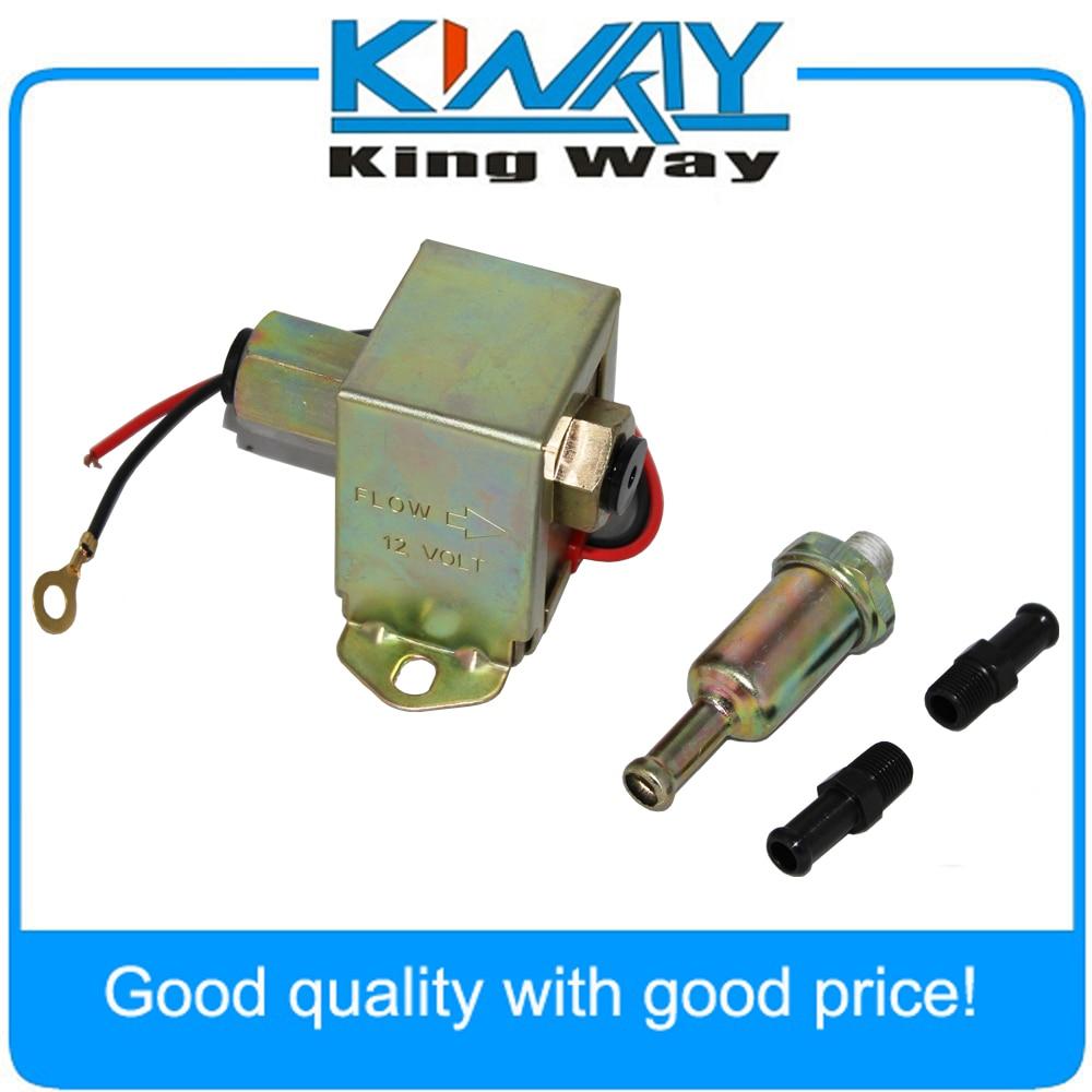 12V Heavy Duty Low Pressure Universal Electric Fuel Pump Diesel 4-6 PSI New